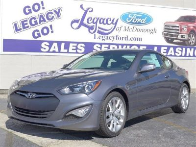 2016 Hyundai Genesis Coupe 3.8L Base (Empire St Gray Metallic)