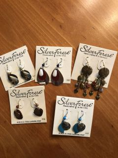 NWT earring group. Rep samples. All surgical steel wires. Ppu