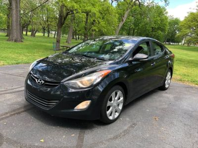 2011 Hyundai Elantra GLS (Phantom Black Metallic)
