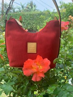 Small Red Vintage Purse