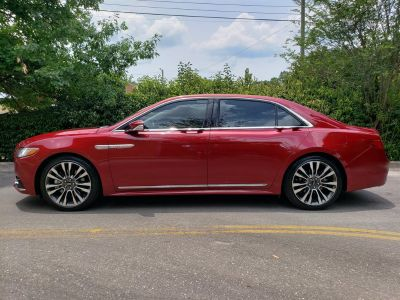 2017 Lincoln Continental Reserve (Maroon)