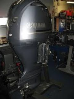 Used Yamaha 225HP 4 Stroke Outboard Motor Engine