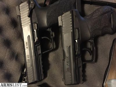 For Sale/Trade: Heckler & Koch HK45 with Night Sights & HK Holster