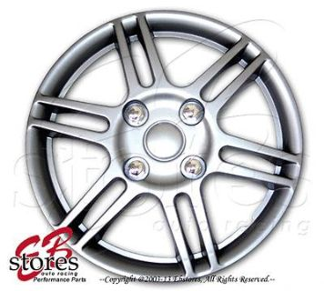 "Buy Hubcaps Style#004 14"" Inches 4pcs Set of 14 inch Rim Wheel Skin Cover Hub cap motorcycle in La Puente, California, US, for US $26.95"