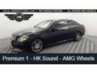 Used 2014 Mercedes-Benz E-Class Black, 54.6K miles