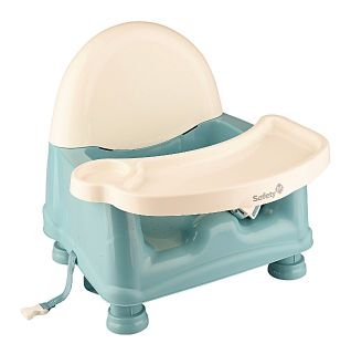 Safety 1st : Easycare Teal Booster Seat With Removable // Swinging Tray. (( Excellent Condition. ))