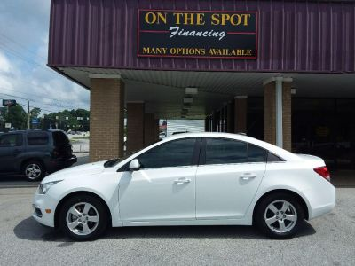 2016 Chevrolet Cruze Limited LT (White)
