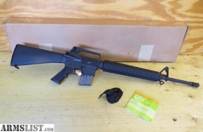 For Sale: COLT A2 PRE BAN MATCH SPORTER HBAR 5.56