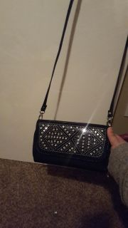 Never used crossbody clutch wallet