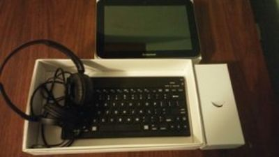 tablet and accessories
