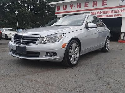 2010 Mercedes-Benz C-Class C300 4MATIC Sport (Iridium Silver Metallic)