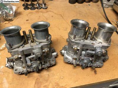 Dellorto 48 DRLA Carbs w/ Rebuild Kits