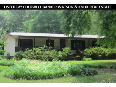 3 Bed 2 Bath Foreclosure Property in Greensboro, GA 30642 - Bowden Pond Rd