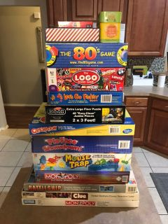 Lot of 14 Board Games