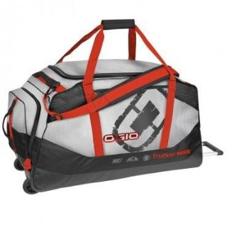 Sell New Ogio Trucker 8800 Wheeled Chrome Motocross Motorcycle Gear Luggage Bag motorcycle in Ashton, Illinois, US, for US $149.90