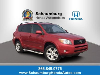 2008 Toyota RAV4 Sport (Barcelona Red Metallic)