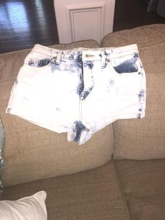 small high waisted shorts