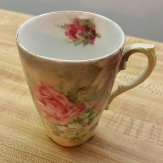 Antique/Vintage C.T. Germany Pink Rose Tea Cup