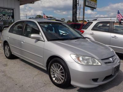 2005 Honda Civic EX (Silver)