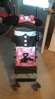 New Minnie Mouse stroller. Used one time. Great condition