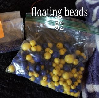 Floating beads