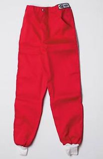 Sell G-FORCE 4382XLGRD Single Layer Pants X-Large Red motorcycle in Suitland, Maryland, United States, for US $59.99