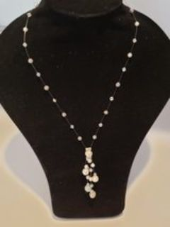 Crystal Bead and Pearl Necklace *Perfect for Bride or Bridesmaid
