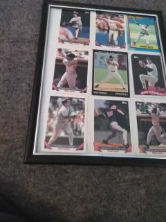 """9""""x12"""" framed picture *Red Sox"""
