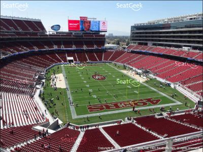 (3) 49ers vs Chargers ** Section 305**