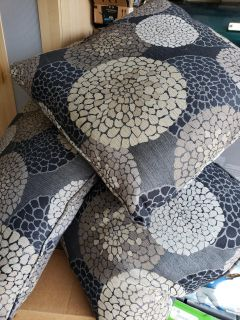 Never used accent pillows