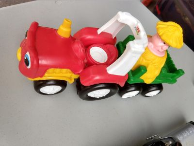 Fisher Price Little People Farm Tractor