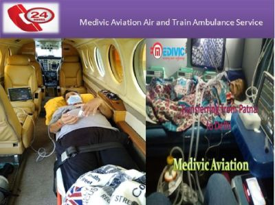 Book Supreme Medivic Air Ambulances in Delhi