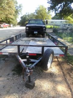 12x7 Home made trailer