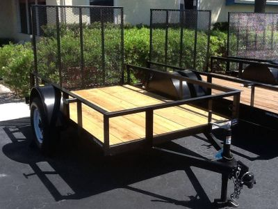 2018 Triple Crown 5X8 Utility Trailer Utility Trailers Fort Pierce, FL