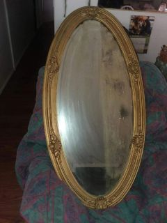 150 year old Antique Mirror