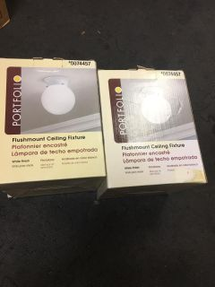 New ceiling lights8 for the pair pick up Northampton