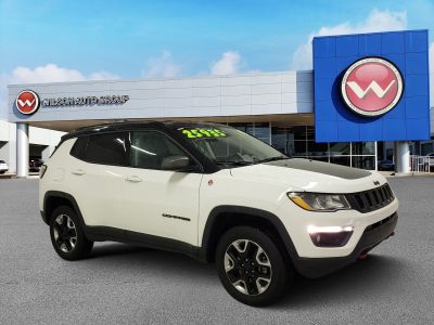 2018 Jeep Compass Trailhawk 4x4 (white)