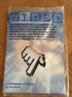 Wired Magazine June 2019 ~ In Defense of Tech