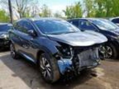 Salvage 2018 NISSAN MURANO S for Sale