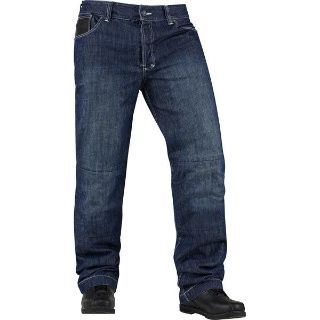 Sell Blue W36 Icon Strongarm 2 Enforcer Riding Pant motorcycle in San Bernardino, California, US, for US $115.00