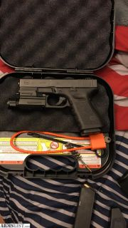 For Trade: Glock 23 with extras