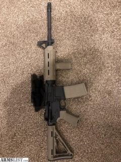 For Sale: AR15 with FDE magpul furniture