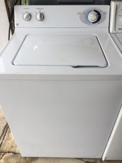 GE Washer in White
