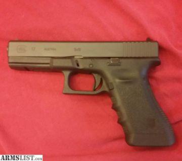 For Sale: FS: Glock 17 Gen 3 9mm