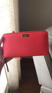 Kate Spade Classic Zip Top Wallet