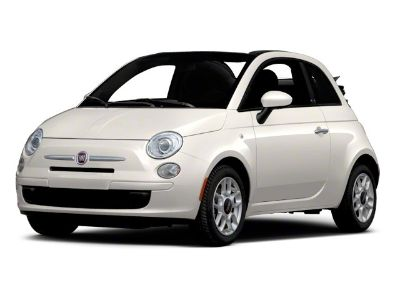 2012 Fiat 500C Lounge (Gucci White)