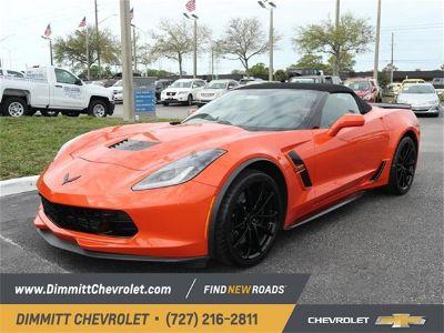 2019 Chevrolet Corvette Grand Sport (Orange)