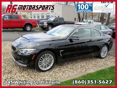 2015 BMW 4 Series 2dr Conv 435i xDrive AWD (Black)