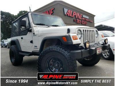 2004 Jeep Wrangler Sport (Stone White)