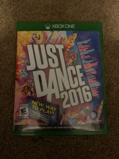 XBox One-Just Dance 2016